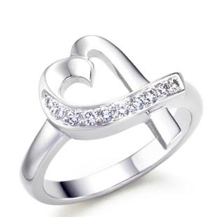 V6银饰品牌戒指