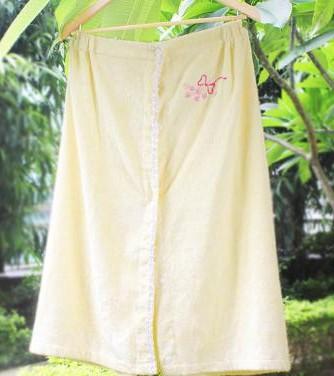 居佳伴竹纤维浴裙