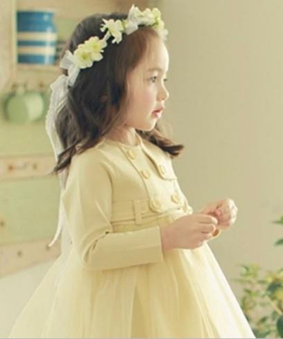 蓝米鼠儿童纱裙