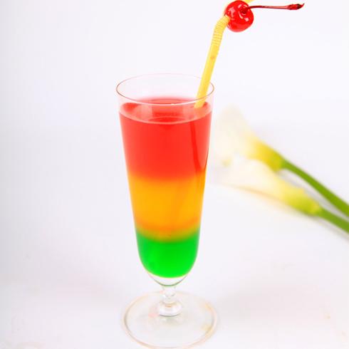 三色果汁_三色果汁