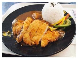 久禾子咖喱猪扒饭