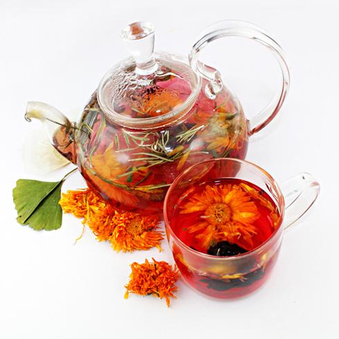 圣伊菲儿茉莉荞香玫瑰茶