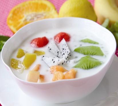 鲜果酸奶图片_鲜果酸奶捞_鲜果酸奶的做法