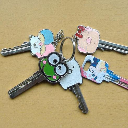 聚韩彩色钥匙