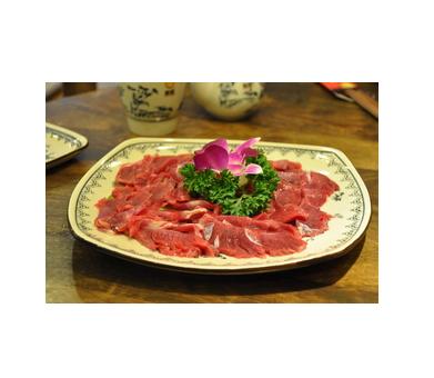 骑龙火锅特色菜品-嫩牛肉