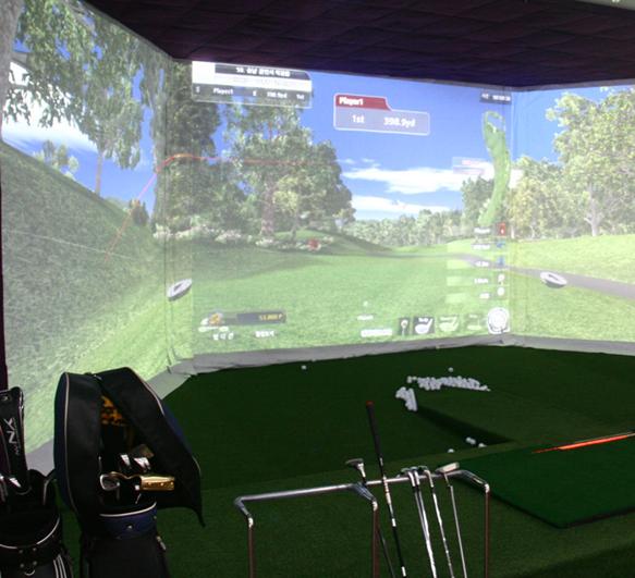 嘉东至尊高科技室内高尔夫