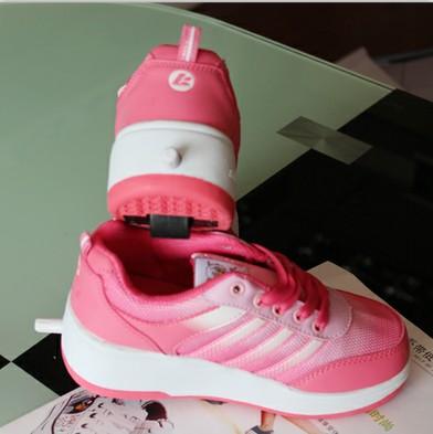 酷客西瓜红运动鞋