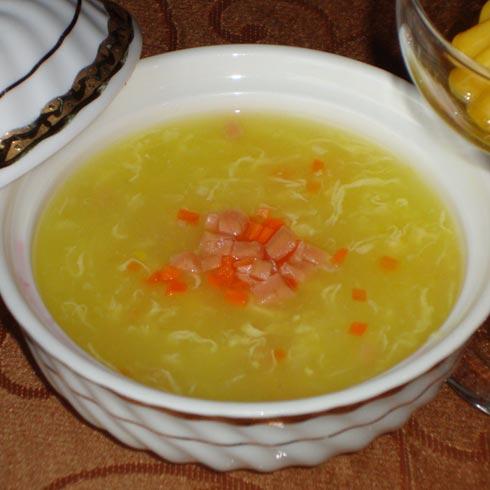 玉米奶油浓汤