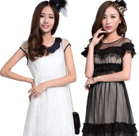 yes女装精品连衣裙;; 非常物语品牌女装;