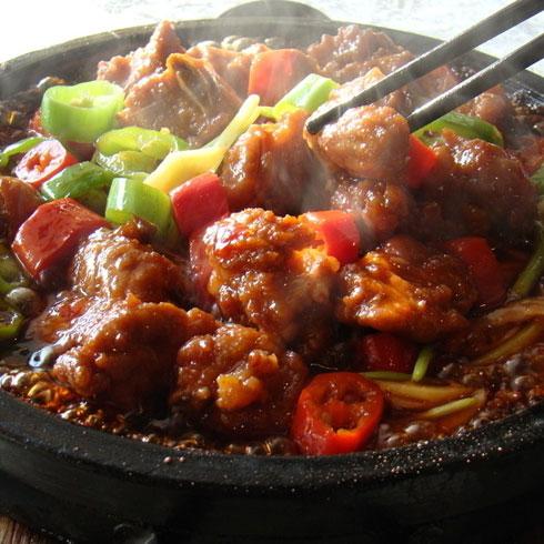 三牛快餐砂锅肉