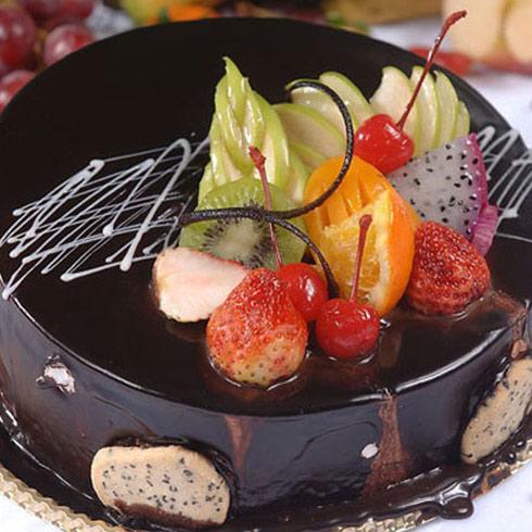 水果冰淇淋蛋糕