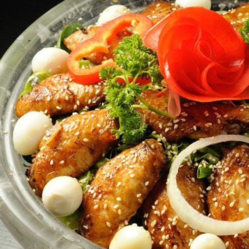 东方宴水晶泡泡锅烤翅