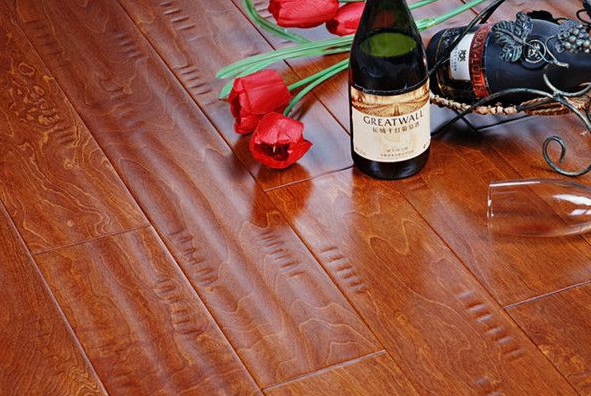 贝尔仿古实木地板