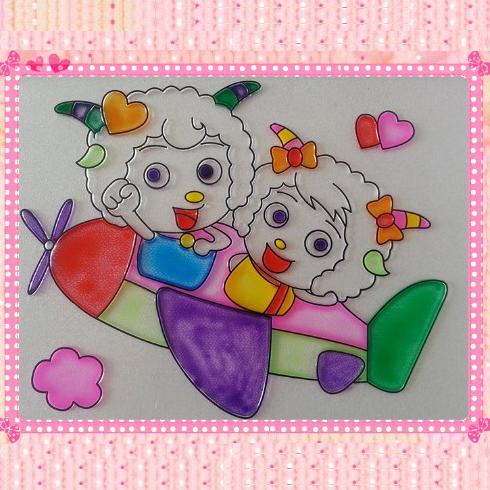 尚彩DIY平板画涂鸦