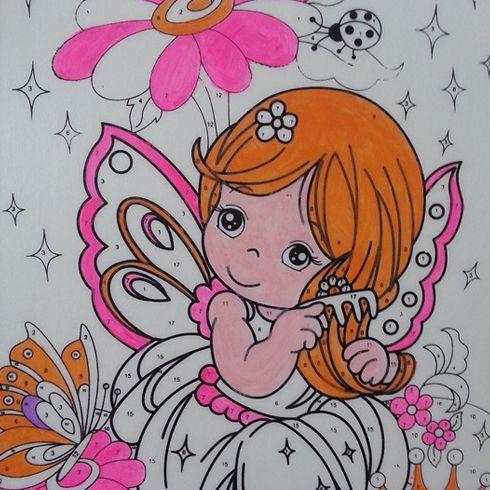 diy相册内页涂鸦,儿童炫彩涂鸦,尚彩diy平板画涂鸦