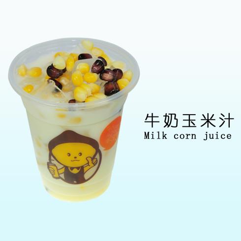 柠檬工坊牛奶玉米汁