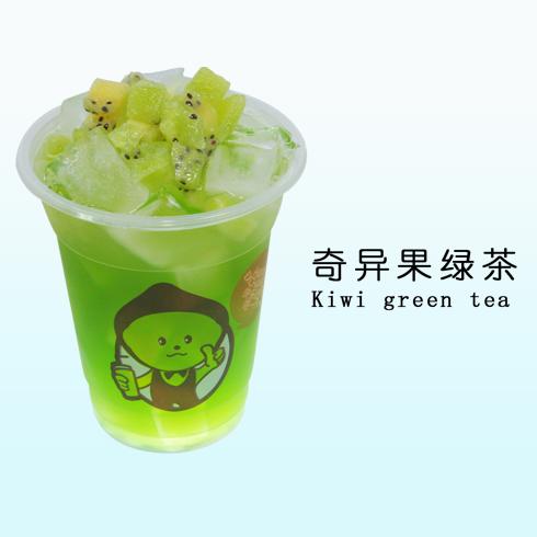 柠檬工坊奇异果绿茶