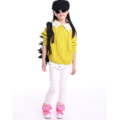 辛巴布黄色长袖t恤