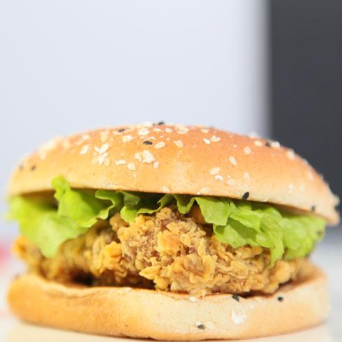 贝克汉堡西式快餐-汉堡包