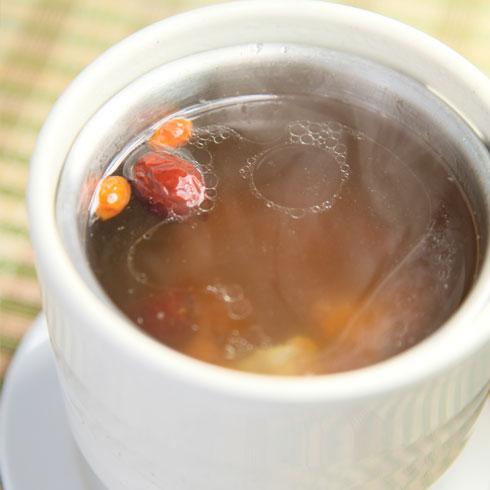 乔东家排骨大包滋补汤品系列-菜干龙骨汤