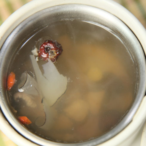 乔东家排骨大包滋补汤品系列-海底椰瘦肉汤