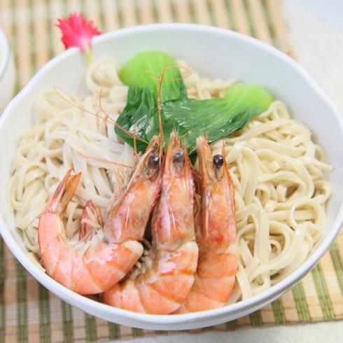 乔东家排骨大包鲜香汤面系列-海味鲜虾面