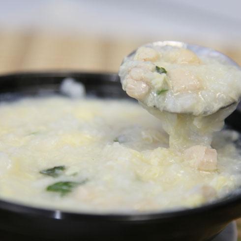 乔东家排骨大包养颜粥品系列-蛋花玉米粥