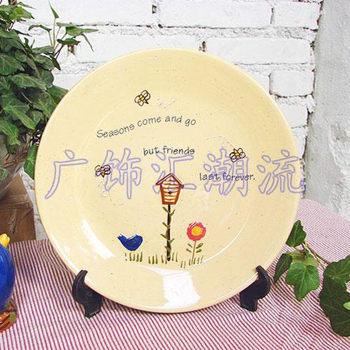 广饰汇个性瓷器盘