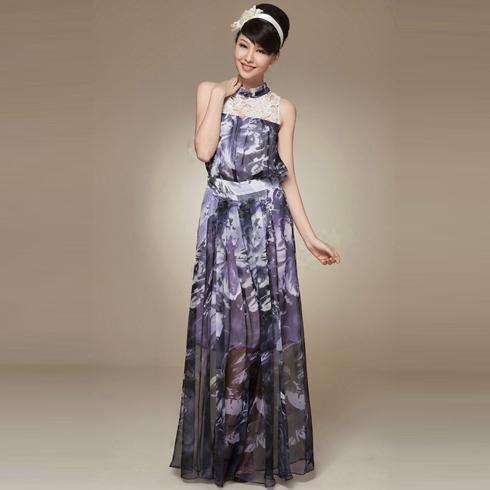 蜜思罗雅复古连衣裙