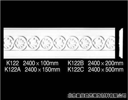 石膏角线平线,简欧石膏平线装修,石膏装饰线价格,皇佳欧艺装高清图片