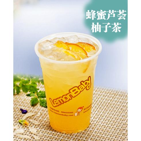 蜂蜜芦荟柚子茶