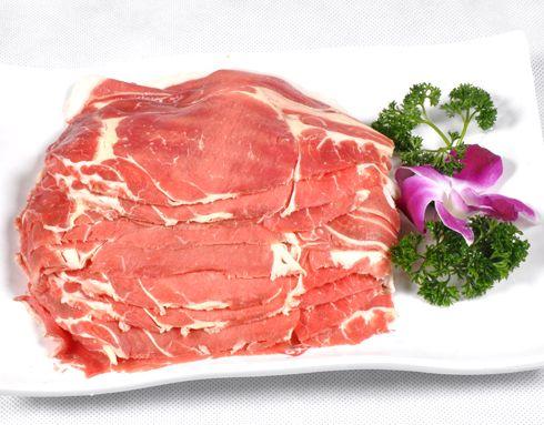 牛上脑肉的火锅小孩-牛上脑肉的做法-秦妈做法鸭肉v火锅还能吃大全吗图片