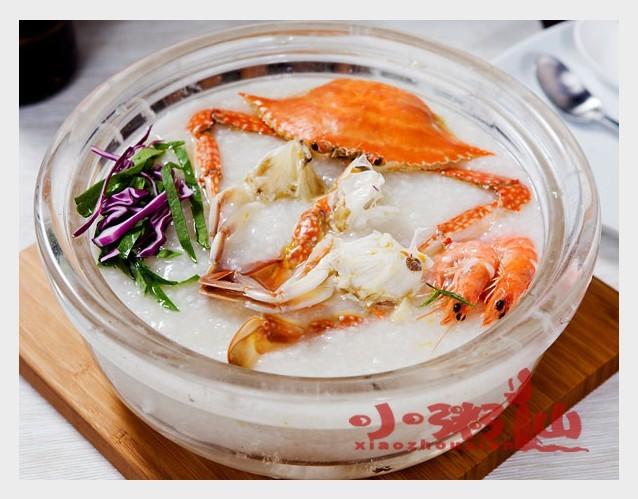 螃蟹海鲜粥