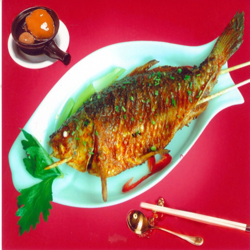 酱香烤全鱼