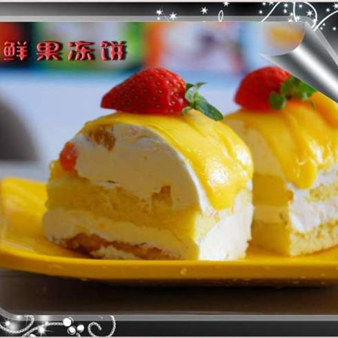 芋香源鲜果冻饼