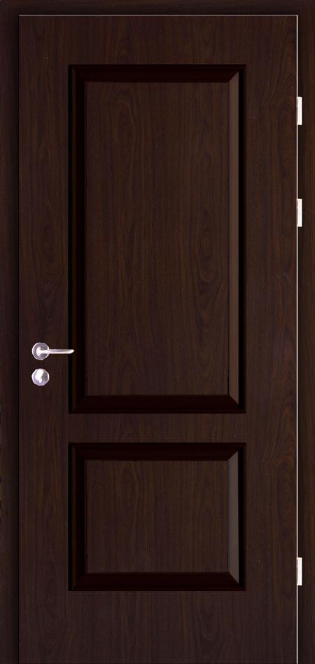 13-11黑胡桃木门安装在儿童房,保证了儿童的正常学习.