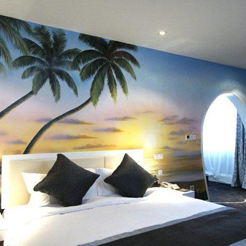 墙面彩绘机多少钱;