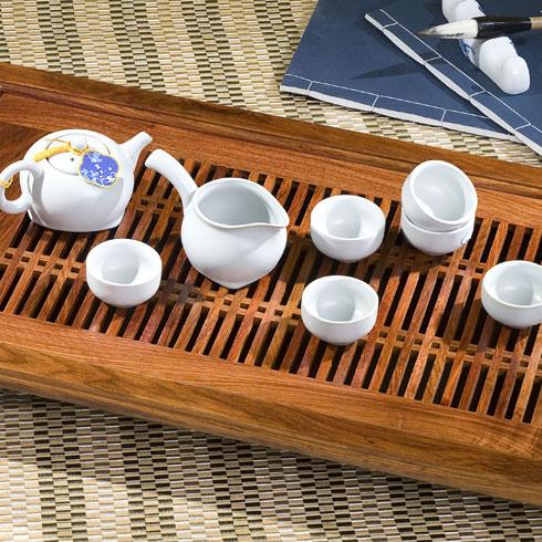 宝玉瓷茶具小套