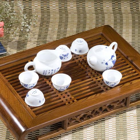 花梨雅致茶盘