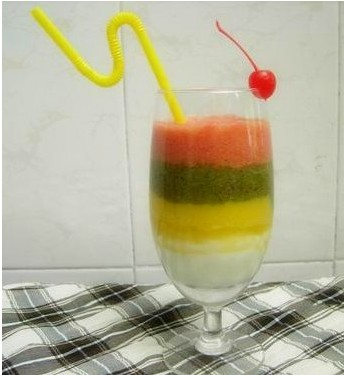 vq彩虹果汁  vq彩虹果汁的做法步骤