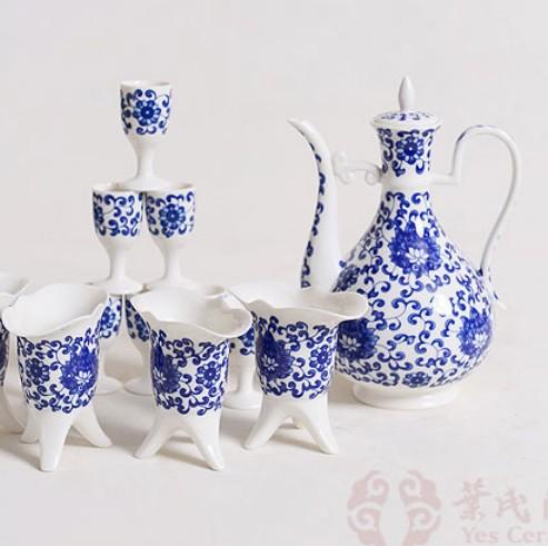 叶氏陶瓷缠枝莲纹