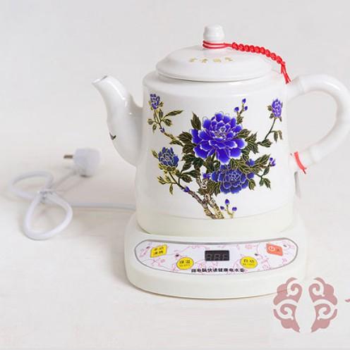叶氏陶瓷变色电茶壶