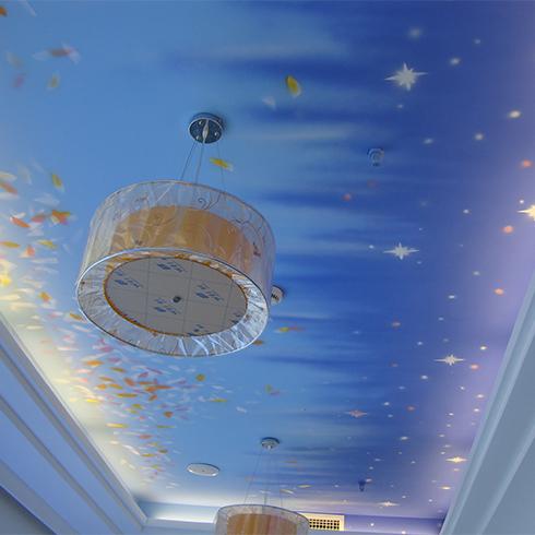 海洋艺术墙艺天花