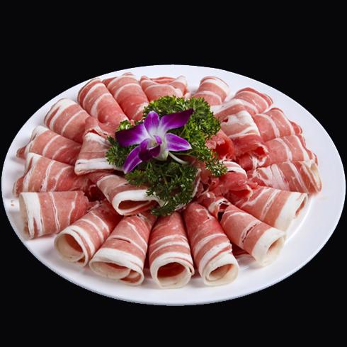 八味锅鱼火锅之鲜切羊肉片