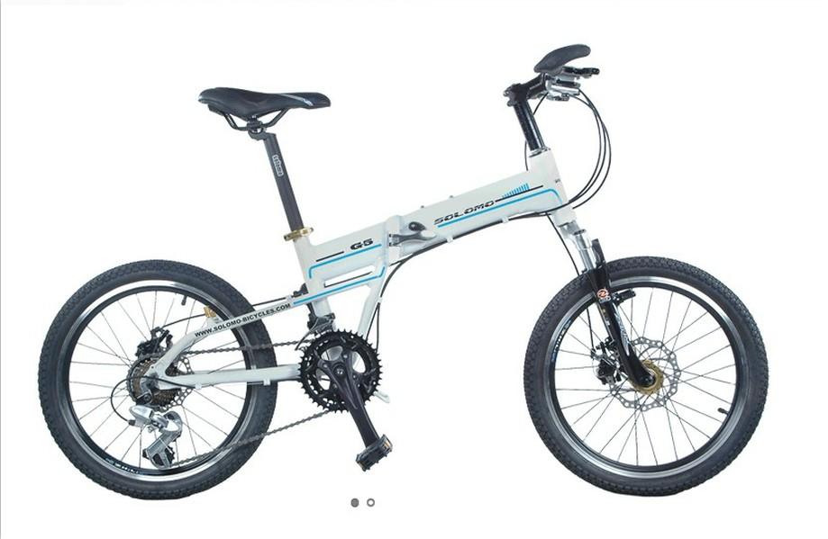 索罗门折叠自行车