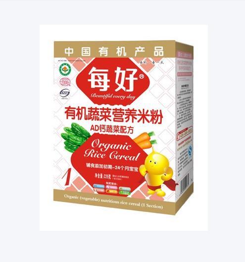 每好AD钙蔬菜配方营养米粉