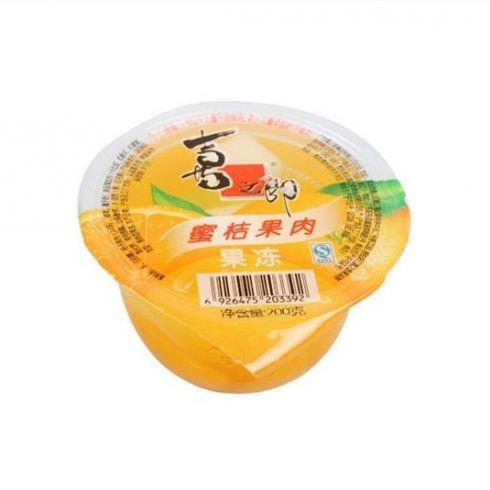 喜之郎蜜桔果肉果冻相关产品 哪几个牌子好