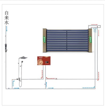 无水箱太阳能热水器-皇明太阳能-无水箱热水器