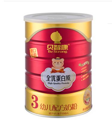贝智康全优蛋白质幼儿配方奶粉
