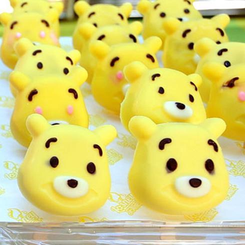 看起来惟妙惟肖的威尼斯小熊,可不是饼干或者橡皮泥哦,这可是乐斯